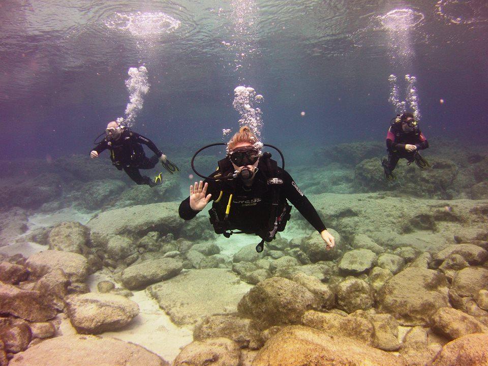 crest diving school limassol