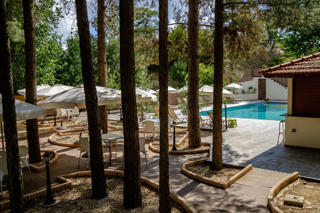 Platres Valley Houses Cyprus Troodos